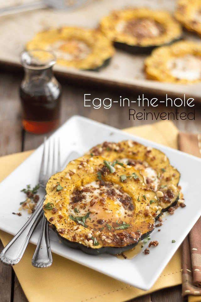 Paleo Egg In The Hole | by Sonia! The Healthy Foodie