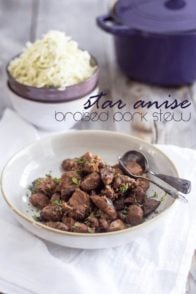 Star Anise Braised Pork Stew | by Sonia! The Healthy Foodie