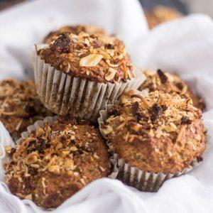 Paleo Banana Walnut Muffins