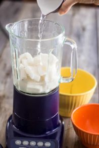 Homemade Coconut Milk | www.thehealthyfoodie.com