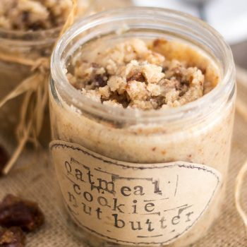 Oatmeal Cookie Nut Butter
