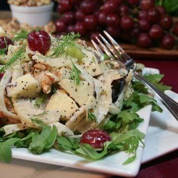 Apple Fennel Celery Salad