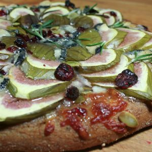 Fresh Fig and Cendrillon Pizza