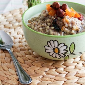 Buckwheat and Amaranth Warm Cereal