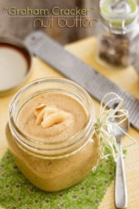 Graham Cracker Nut Butter | www.thehealthyfoodie.com