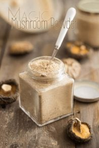 Magic Mushroom Powder | www.thehealthyfoodie.com