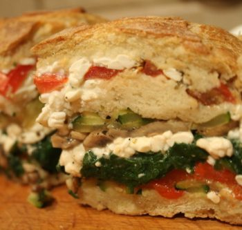 Vegetable Stuffed Bread