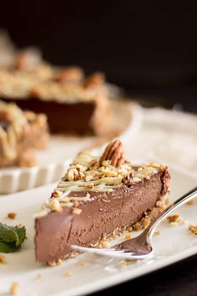 Chocolate Truffle Cake | thehealthyfoodie.com