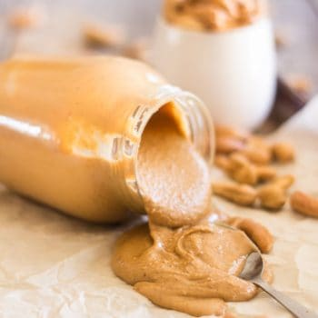 All Natural Homemade Roasted Cashew Butter