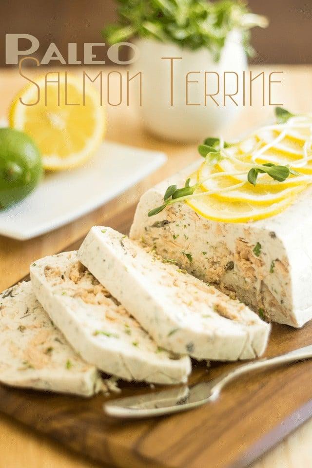 Paleo Salmon Terrine | thehealthyfoodie.com