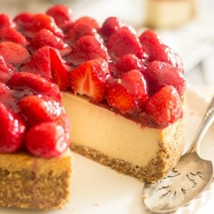 Secret Ingredient Strawberry Cheesecake [Non-Dairy & Paleo]