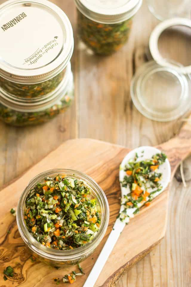 Salted Herbs | thehealthyfoodie.com