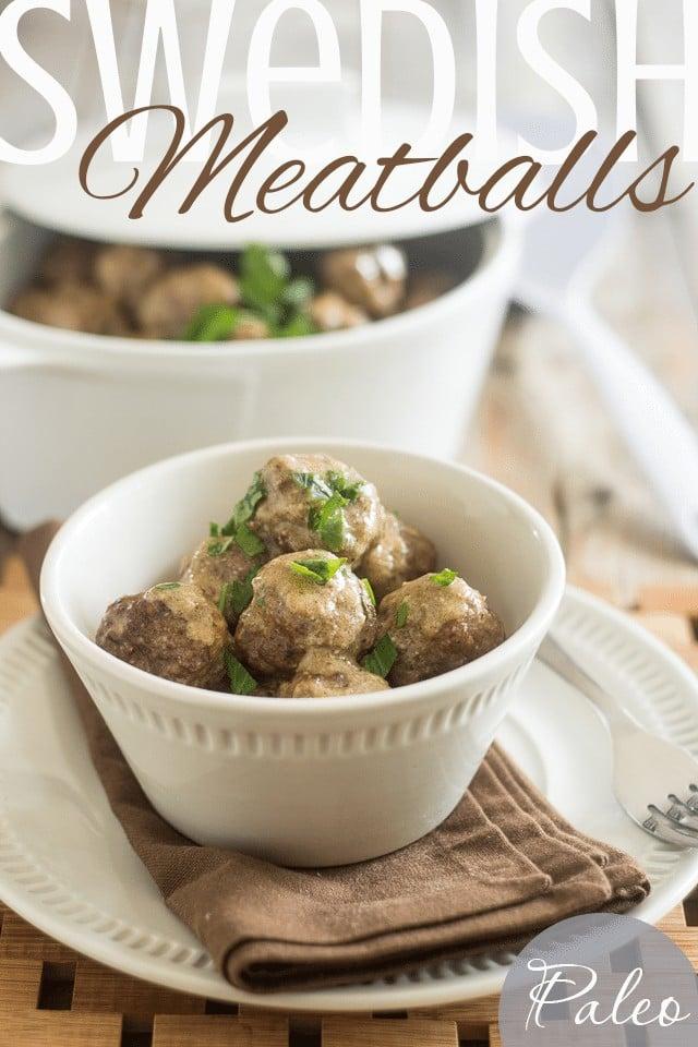 Swedish Meatballs | thehealthyfoodie.com