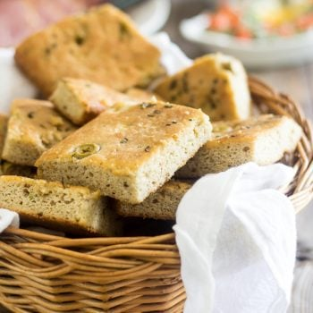 Olive and Rosemary Faux'caccia