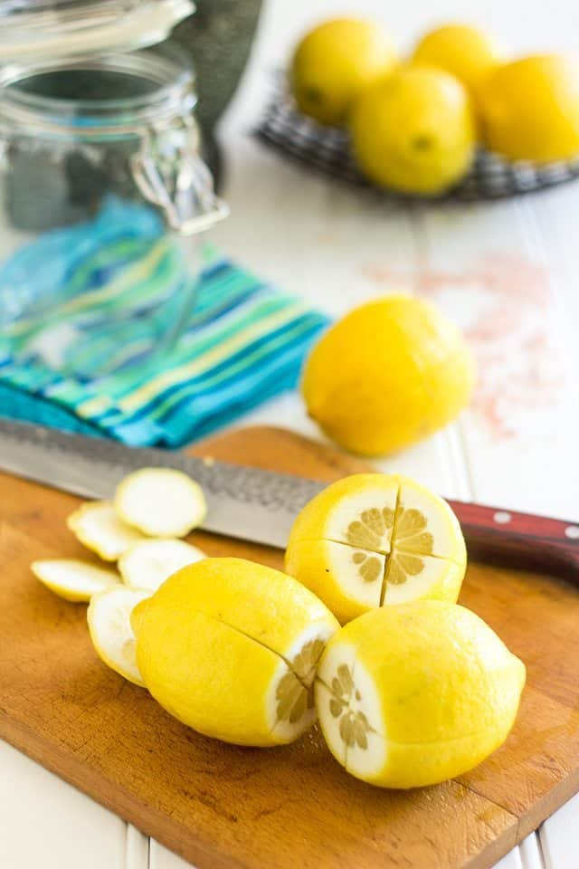 Preserved Lemons | thehealthyfoodie.com