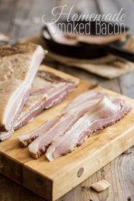 Homemade Smoked Bacon | thehealthyfoodie.com