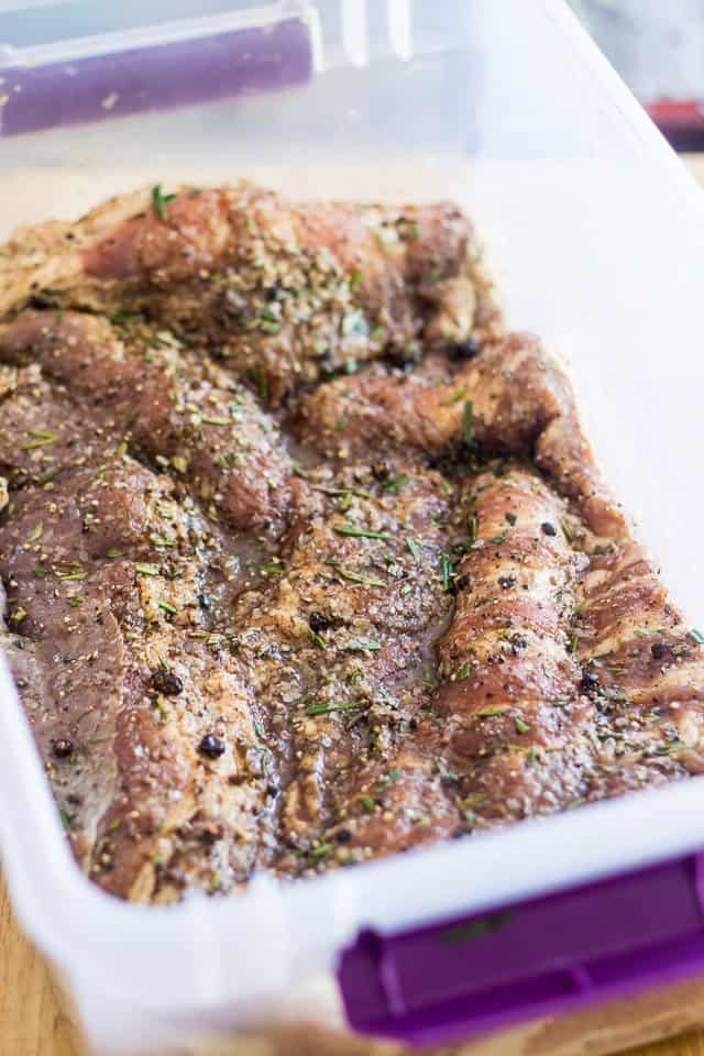 Homemade Smoked Bacon