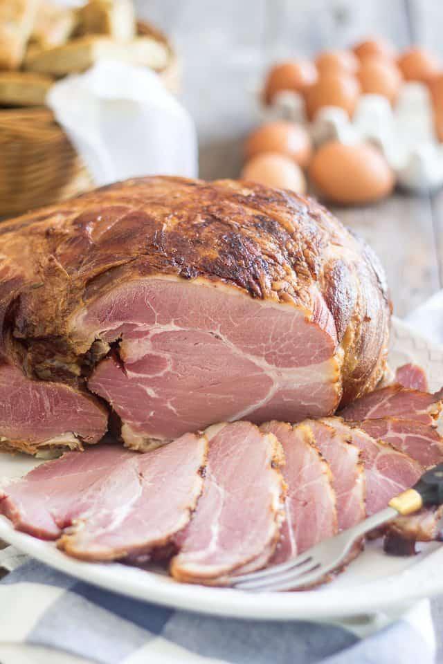 Homemade Smoked Ham | thehealthyfoodie.com