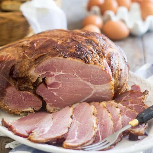 Homemade Smoked Ham