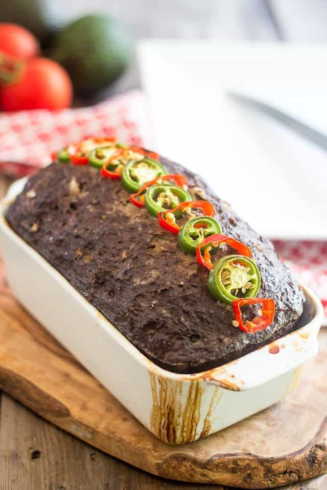 TexMex Meatloaf | thehealthyfoodie.com