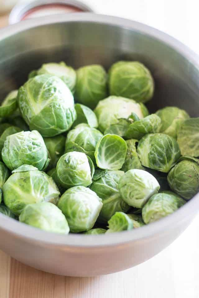 Brussels Sprouts | thehealthyfoodie.com