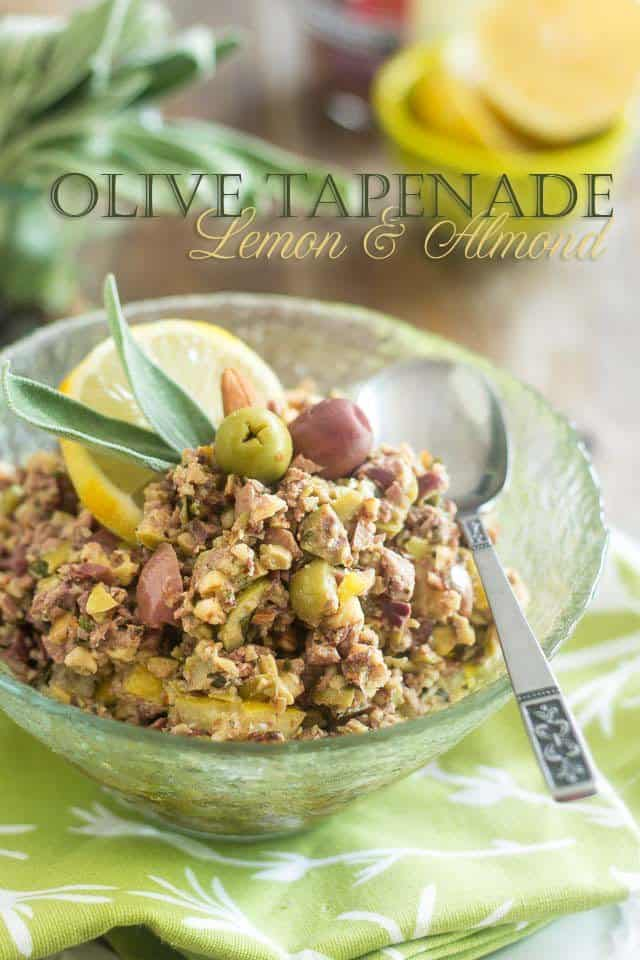 Olive Lemon Tapenade | thehealthyfoodie.com