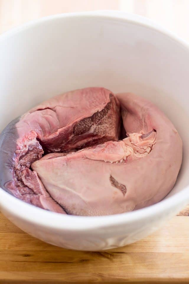 Pickled Beef Tongue | thehealthyfoodie.com
