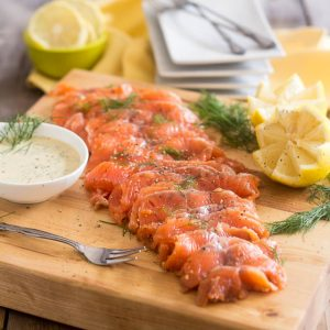 how to make gravlax less salty