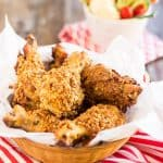 Oven Baked Fried Chicken | thehealthyfoodie.com