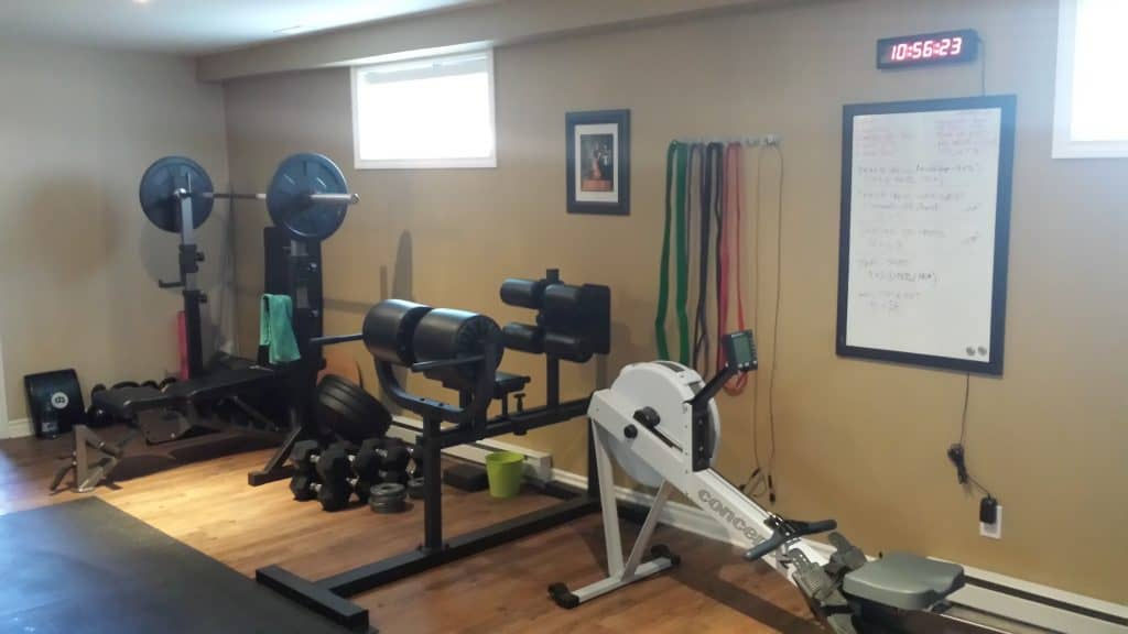 My Humble Home Gym | thehealthyfoodie.com