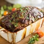 Classic Meatloaf | thehealthyfoodie.com