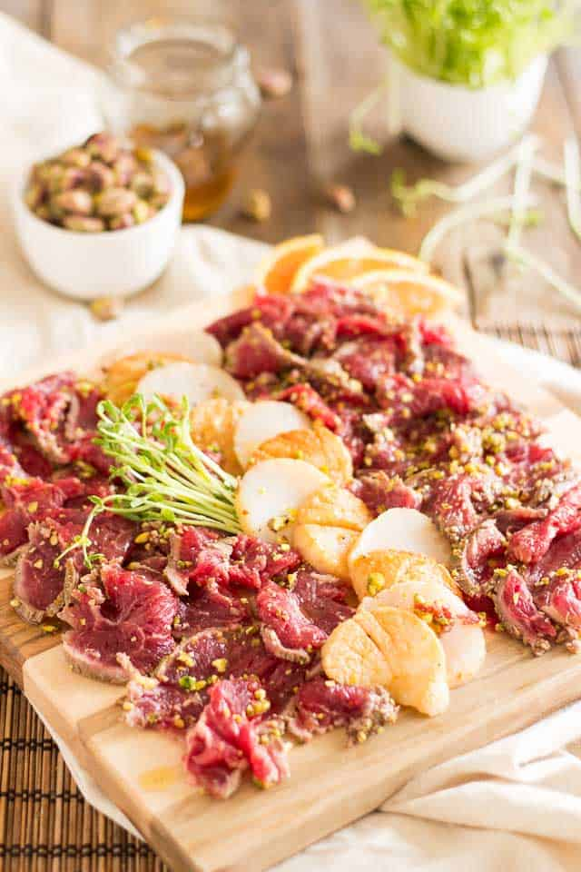 Surf and Turf Tataki Style | thehealthyfoodie.com