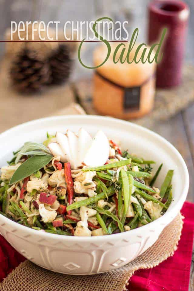 Perfect Christmas Salad | thehealthyfoodie.com