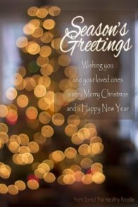 Seasons Greetings 2014 | thehealthyfoodie.com