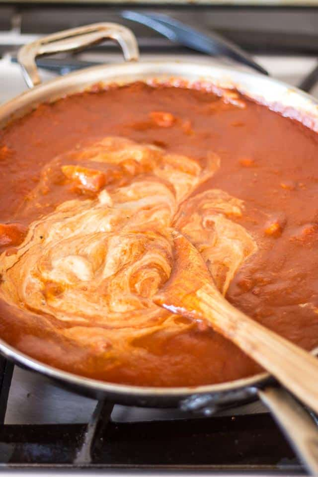 Bigger Better Butter Chicken | thehealthyfoodie.com