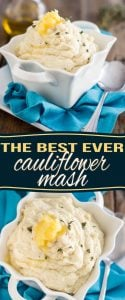 Find out why this is the The Best Cauliflower Mash Ever. A very simple step makes all the difference in the world! It's even better than mashed potatoes!
