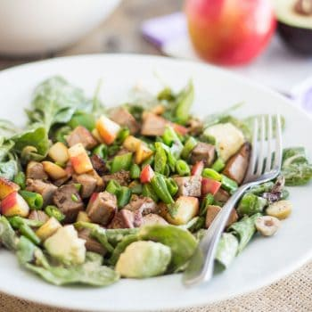 Warm Lamb and Apple Salad