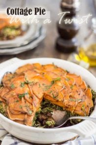 Cottage Pie With A Twist | thehealthyfoodie.com