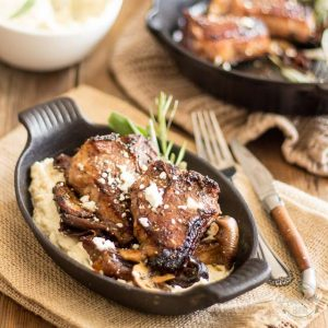 Maple Glazed Lamb Chops