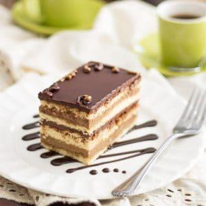 Paleo Opera Cake