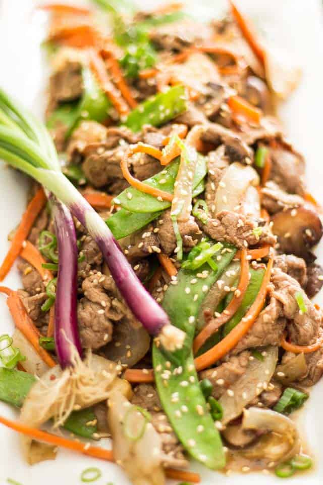 Quick Szechuan Beef | thehealthyfoodie.con