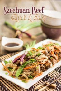 Quick Szechuan Beef   thehealthyfoodie.con