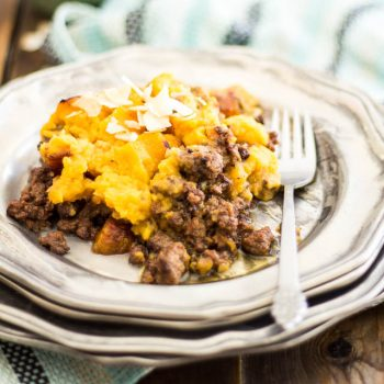 Shepherd's Pie with an Indian Twist