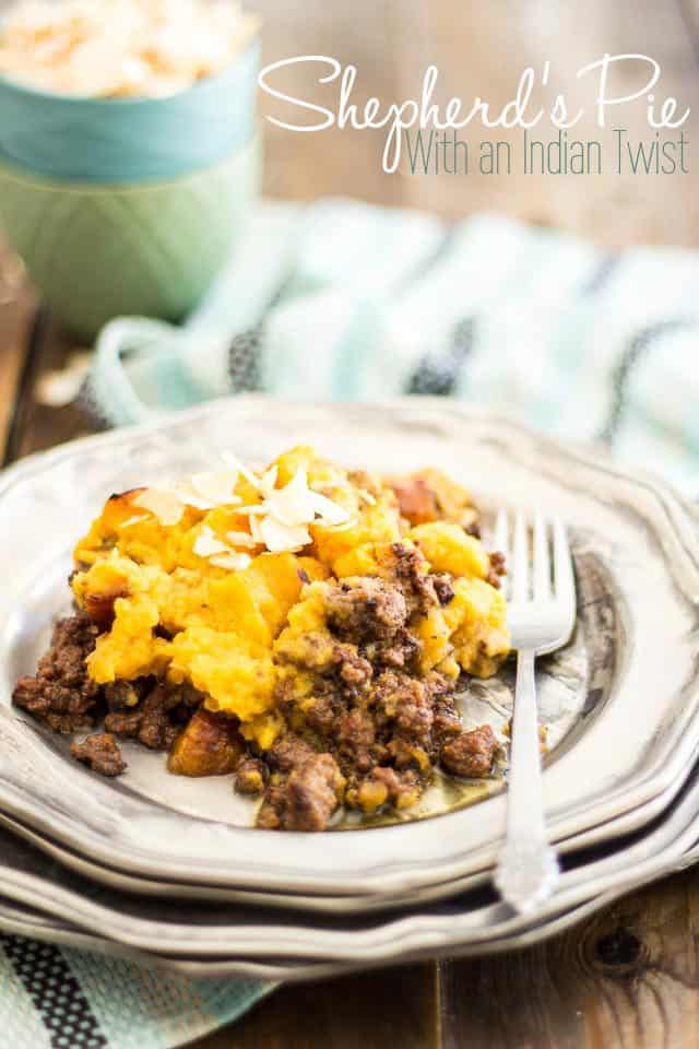 Shepherds Pie Indian Style | thehealthyfoodie.com