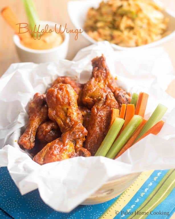 Buffalo Wings | thehealthyfoodie.com
