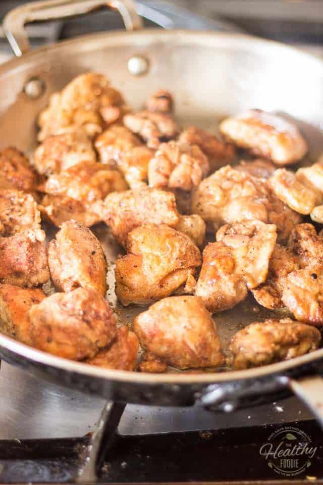 Orange Sesame Chicken | thehealthyfoodie.com