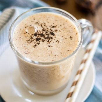 Vanilla Honey Post-Workout Shake | thehealthyfoodie.com