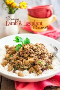 With its tasty lamb meat, creamy eggplant and subtle notes of spiced cinnamon sweetness, this Creamy Lamb and Eggplant Casserole will not doubt win you over