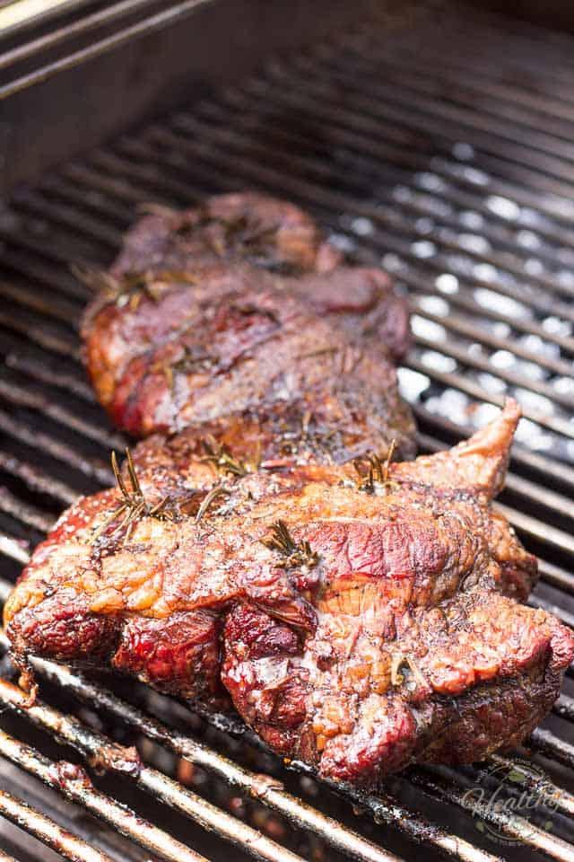 Smoked Lamb Roast | thehealthyfoodie.com