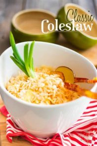 Classic Coleslaw | thehealthyfoodie.com